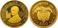 500 Pesos Gold 1968 Kolumbien Republik seit 1886. Polierte Platte  875,00 EUR  zzgl. 7,00 EUR Versand