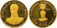 300 Pesos Gold 1969  NI Kolumbien Republik seit 1886. Polierte Platte  525,00 EUR  zzgl. 7,00 EUR Versand