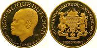 20000 Francs Gold  Tschad Republik seit 1962. Winzige Kratzer, Polierte... 2975,00 EUR kostenloser Versand