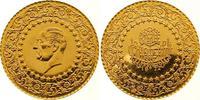 250 Piaster Gold 1972 Türkei Republik. Fast Stempelglanz  /  Polierte P... 725,00 EUR  zzgl. 7,00 EUR Versand