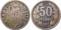 Silberabschlag von den Stempeln des 50 Pfennig 1917 Wetter  Polierte Pl... 750,00 EUR