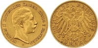 10 Mark Gold 1907  A Preußen Wilhelm II. 1888-1918. Winziger Randfehler... 185,00 EUR  zzgl. 7,00 EUR Versand