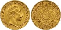 10 Mark Gold 1905  A Preußen Wilhelm II. 1888-1918. Sehr schön +  165,00 EUR  zzgl. 7,00 EUR Versand