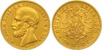 20 Mark Gold 1875  A Braunschweig Wilhelm 1830-1884. Vorzüglich  1850,00 EUR kostenloser Versand