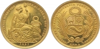 50 Soles Gold 1951 Peru Republik seit 1821. Vorzüglich +  975,00 EUR  zzgl. 7,00 EUR Versand