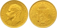 20 Lewa Gold 1894 Bulgarien Ferdinand I. 1887-1918. Fast vorzüglich  525,00 EUR  zzgl. 7,00 EUR Versand