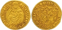 Goldgulden, Bacharach Gold 1423 Pfalz-Kurlinie Ludwig III. 1410-1436. W... 725,00 EUR  zzgl. 7,00 EUR Versand