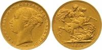 Sovereign Gold 1886  M Australien Victoria 1837-1901. Sehr schön - vorz... 335,00 EUR  zzgl. 7,00 EUR Versand
