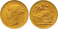 Sovereign Gold 1880  S Australien Victoria 1837-1901. Fast vorzüglich  335,00 EUR  zzgl. 7,00 EUR Versand