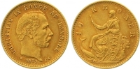 10 Kronen Gold 1873 Dänemark Christian IX. 1863-1906. Sehr schön  185,00 EUR  zzgl. 7,00 EUR Versand