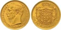 10 Kroner Gold 1908 Dänemark Frederik VIII. 1906-1912. Vorzüglich - Ste... 190,00 EUR  zzgl. 7,00 EUR Versand