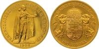 100 Kronen Gold 1908 Haus Habsburg Franz Joseph I. 1848-1916. Vorzüglic... 1475,00 EUR kostenloser Versand