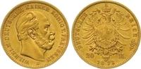 20 Mark Gold 1873  B Preußen Wilhelm I. 1861-1888. Winziger Randfehler,... 300,00 EUR  zzgl. 7,00 EUR Versand