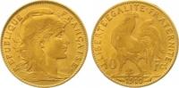 10 Francs Gold 1910  A Frankreich Dritte Republik 1870-1940. Sehr schön... 130,00 EUR  zzgl. 7,00 EUR Versand