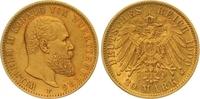 20 Mark Gold 1900  F Württemberg Wilhelm II. 1891-1918. Winziger Randfe... 325,00 EUR  zzgl. 7,00 EUR Versand