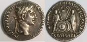denarius / denar 2 BC - 4 AD Roman Empire / Römische Kaiserzeit Augustus 27BC - 14AD feines Sehr schön