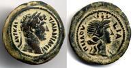 Egypt / Ägypten AE Obol 126/7 AD gutes Sehr schön Hadrian 117-128 AD 900,00 EUR  zzgl. 12,00 EUR Versand