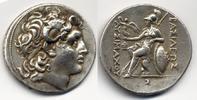 Thrakien / Thrace AR Tetradrachm Lysimachos. 305-281 BC - Fine style / Feiner Stil