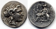 Thrakien / Thrace AR Tetradrachm Lysimachos. 305-281 BC