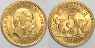 5 kronor 1901 Sweden / Schweden Oskar II MS64 / vzgl-Stgl  180,00 EUR  plus 10,00 EUR verzending
