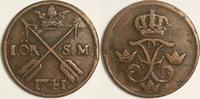 1 öre SM 1741 Sweden / Schweden Fredrik I / Friedrich von Hessen Sehr S... 30,00 EUR  zzgl. 6,00 EUR Versand