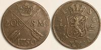 2 öre SM 1750 Sweden / Schweden Fredrik I / Friedrich von Hessen Sehr S... 35,00 EUR  zzgl. 6,00 EUR Versand