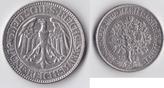 5 RM 1928 A Deutsches Reich - Weimar Kursm...