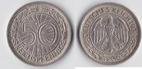 50 Reichspfennig 1936 E Deutsches Reich Kursmünze ss+  25,00 EUR  plus 5,50 EUR verzending