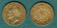 Sachsen 10 Mark 1873 E ss Johann 365,00 EUR 