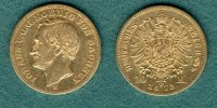 Sachsen 10 Mark 1872 E f.ss Johann 355,00 EUR 