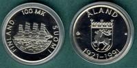 100 Markkaa 1991 Finnland Aland stgl.  22,00 EUR  +  5,90 EUR shipping
