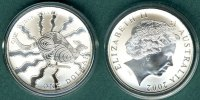 Australien 1 Dollar 2002 stgl. K&auml;nguruh  1 oz. Ag 69,00 EUR 