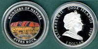 Cook Islands 1 Dollar Wunder der Natur - Ayers Rock