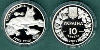 Ukraine 10 Hryven 2001 PP Nordluchs 275,00 EUR 