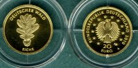 Bundesrepublik Deutschland 20 Euro 2010 A stgl. Deutscher Wald  Eiche   ... 345,00 EUR 