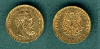 Preussen 10 Mark 1888 A vz Friedrich III. 215,00 EUR 
