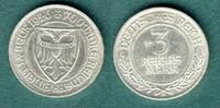 3 Reichsmark 1926 A Weimarer Republik Lübeck vz  109,00 EUR  +  6,90 EUR shipping