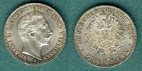 2 Mark 1888 A Preussen Wilhelm II. f.stgl.  579,00 EUR  + 9,90 EUR frais d'envoi