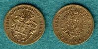 10 Mark 1874 B Hamburg Stadtwappen, Schild unten spitz / Mit Expertise ... 2150,00 EUR  + 9,90 EUR frais d'envoi