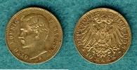 10 Mark 1909 D Bayern Otto ss+  220,00 EUR  + 6,90 EUR frais d'envoi