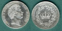 Bayern 1 Krontaler 1837 ss, geputzt Ludwig I. 129,00 EUR 
