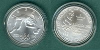 USA 1 Dollar 1996 D stgl. Olympiade - Hochsprung 199,00 EUR 