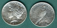 USA 1 Dollar 1921 ss Peace type 125,00 EUR 