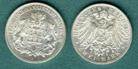Hamburg 2 Mark 1904 J vz+ Stadtwappen 60,00 EUR 