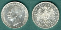 Baden 5 Mark 1913 G vz/stgl. Friedrich II. 169,00 EUR 