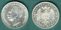 5 Mark 1913 G Baden Friedrich II. vz/stgl.  169,00 EUR  + 6,90 EUR frais d'envoi