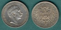 Preussen 5 Mark 1895 A ss/vz Wilhelm II. 69,00 EUR 