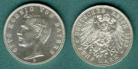 Bayern 5 Mark 1908 D vz/stgl. Otto 139,00 EUR 