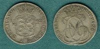D&auml;nemark 24 Skilling 1742 ss/vz Christian VI. 149,00 EUR 