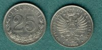 Italien 25 Centesimi 1902 vz Vittorio Emanuele III. 99,00 EUR 
